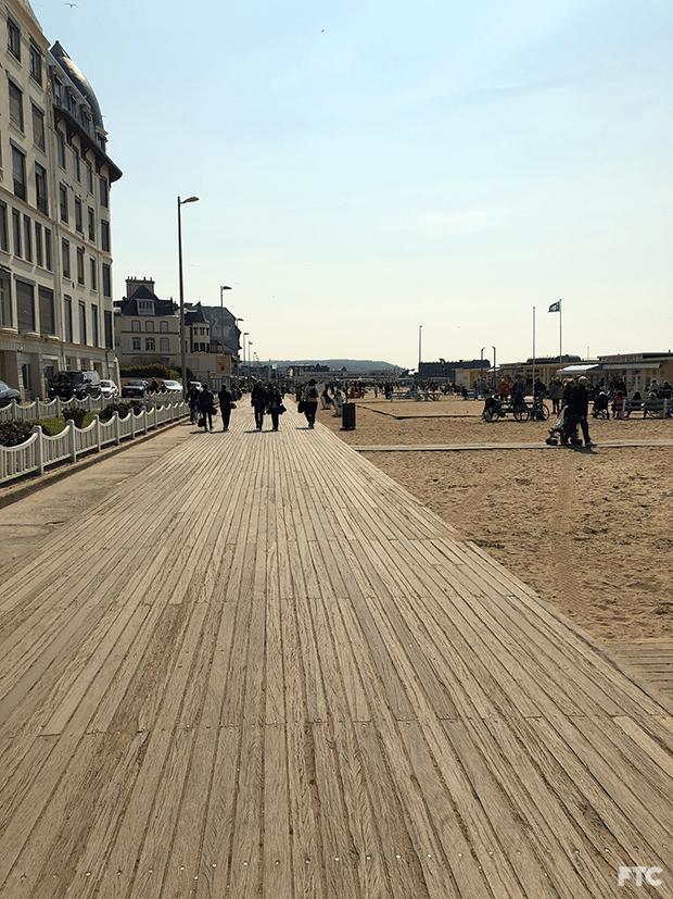 litoral da Normandia França