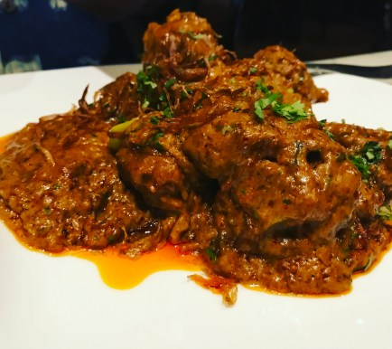Slow Cooked Lamb Rendang..