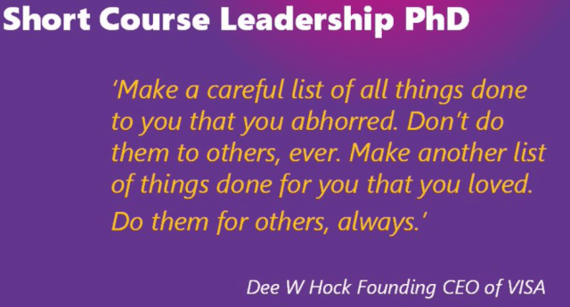 course in leadership