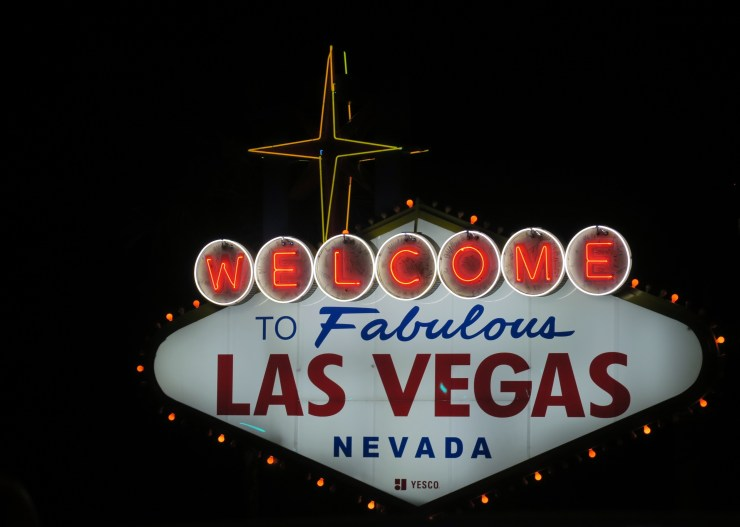 "The ""Welcome to Fabulous Las Vegas Nevada"" Sign"