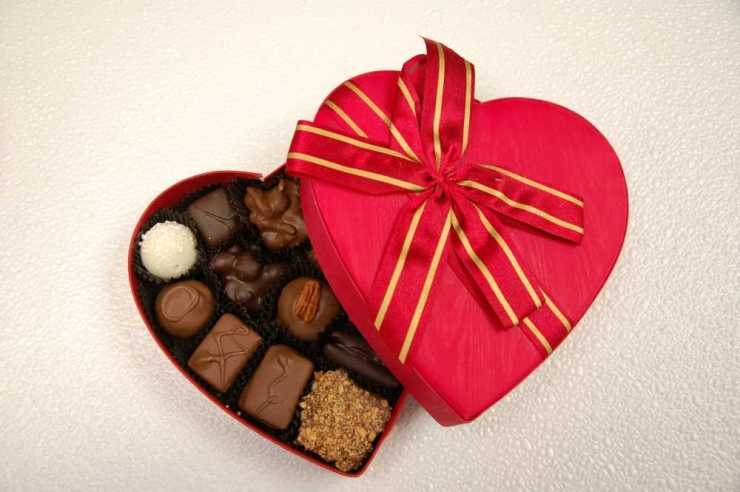 Heart Box of Chocolates from Fabiano's Candies in Lansing, Michigan