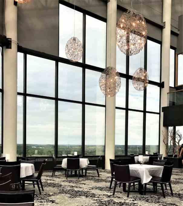 Aerie Restaurant Dining Room