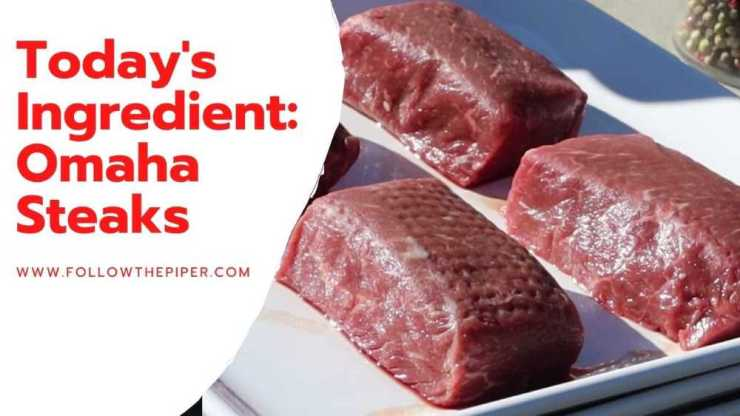 Picture of Raw New York Strip Steaks from Omaha Steaks