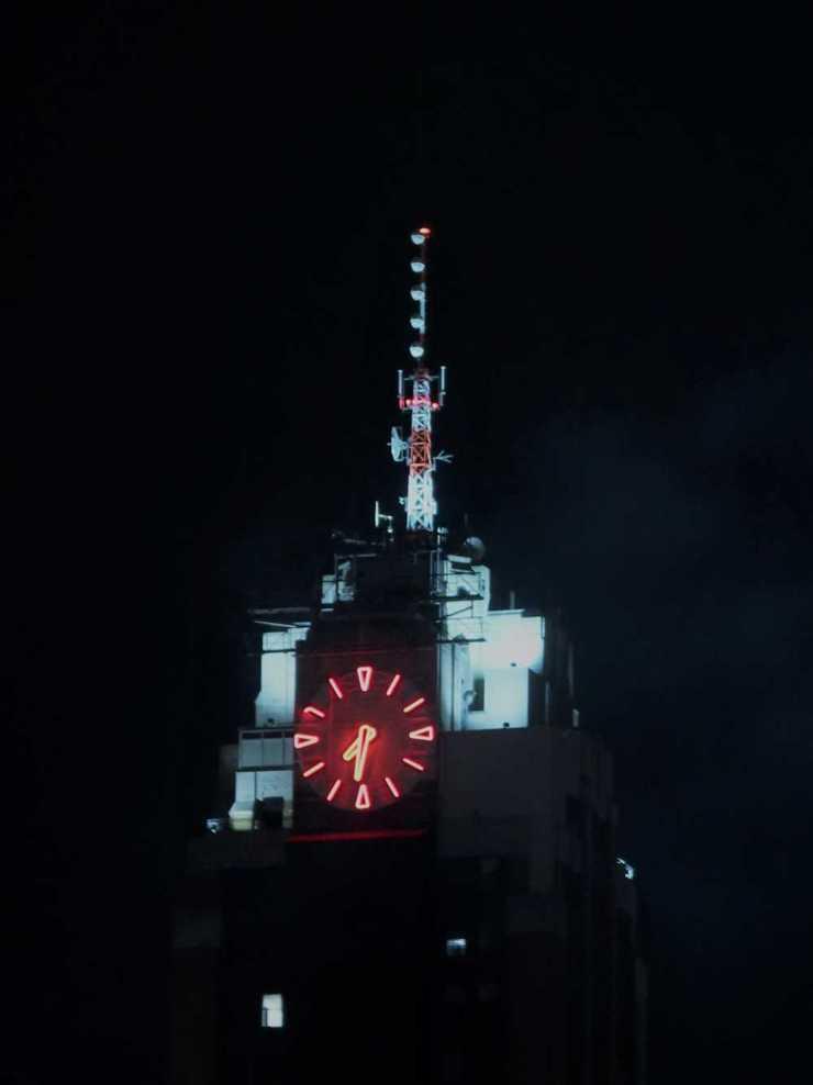Boji Tower at Night