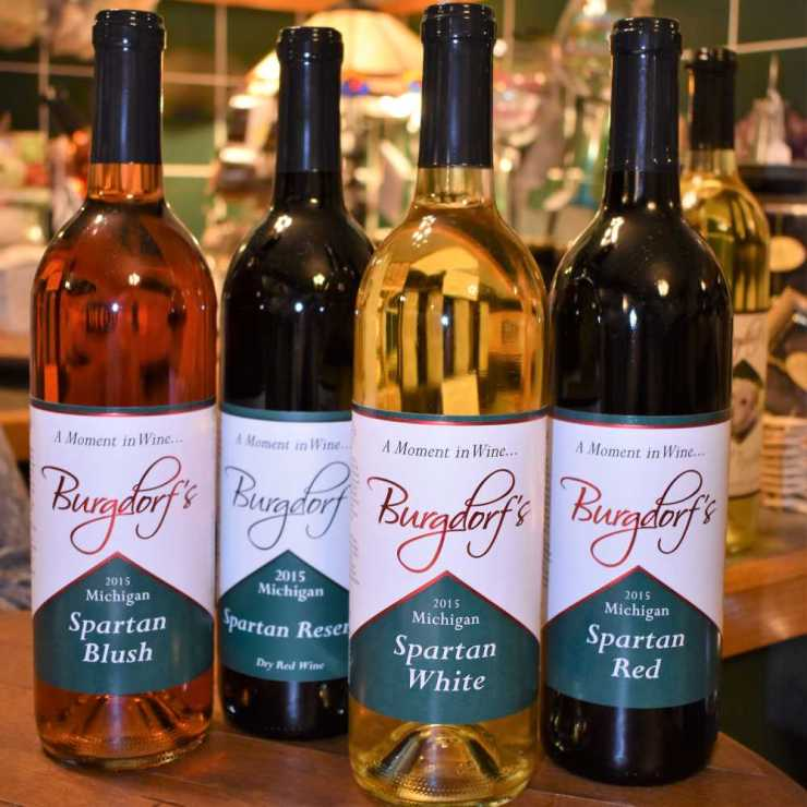 Spartan Wines at Burgdorf's Winery