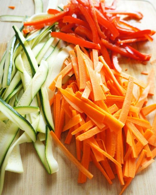 Veggie Noodles for Pad Thai
