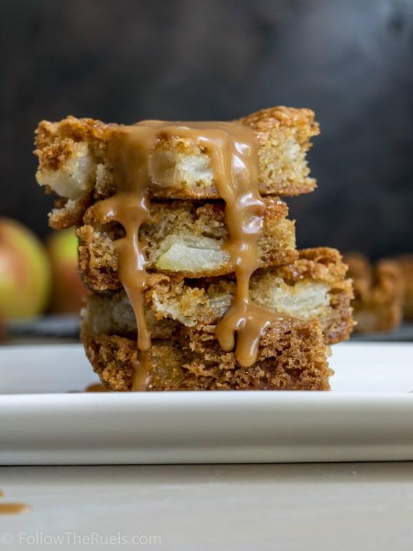 Caramel Apple Bars-7