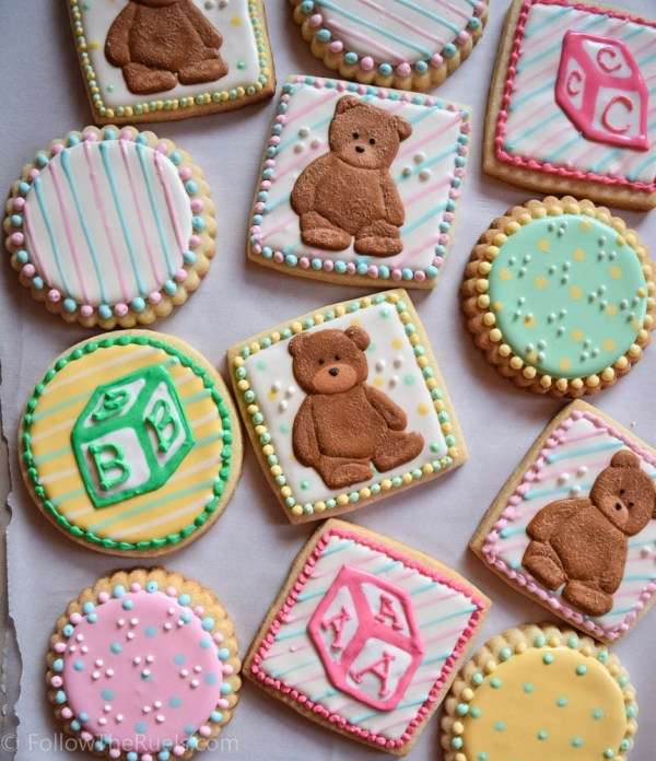 Teddy Bear Cookies-5