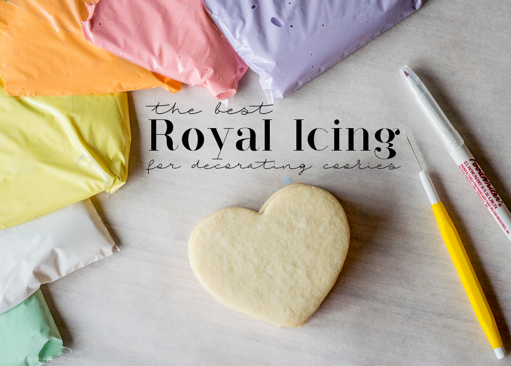 The Best Royal Icing for Decorating Cookies