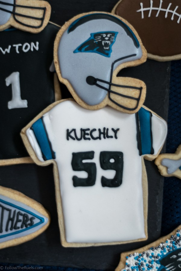 Panthers Cookies B-6
