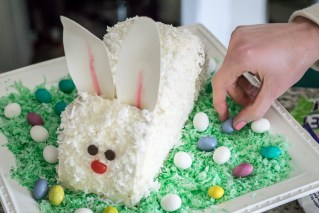 Surprise Inside Easter Bunny Cake