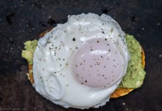 Paleo Avocado Toast with a Fried Egg