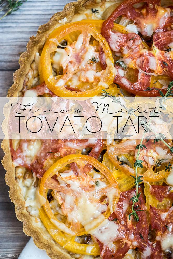 Farmer's Market Tomato Tart