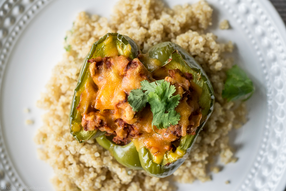 Chorizo Stuffed Peppers-8