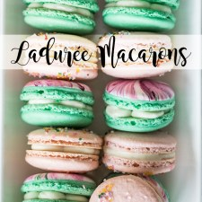 Ladurée Macaron Recipe (and VIDEO!)