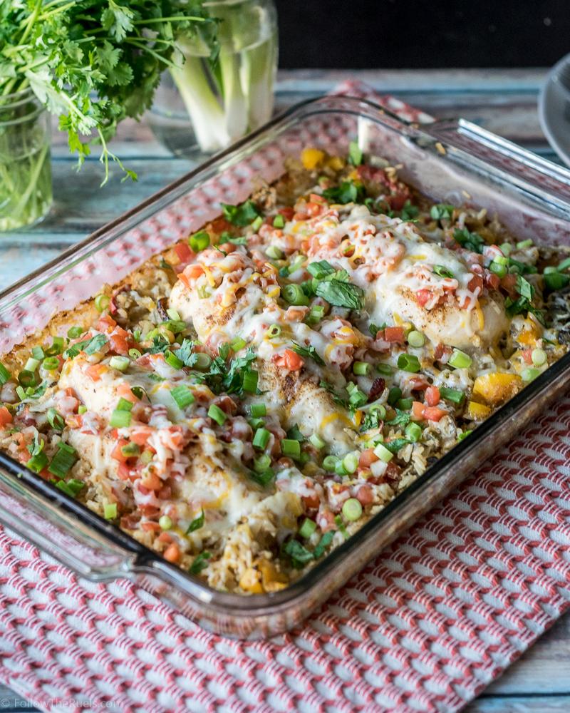 Chicken and Rice Casserole-5