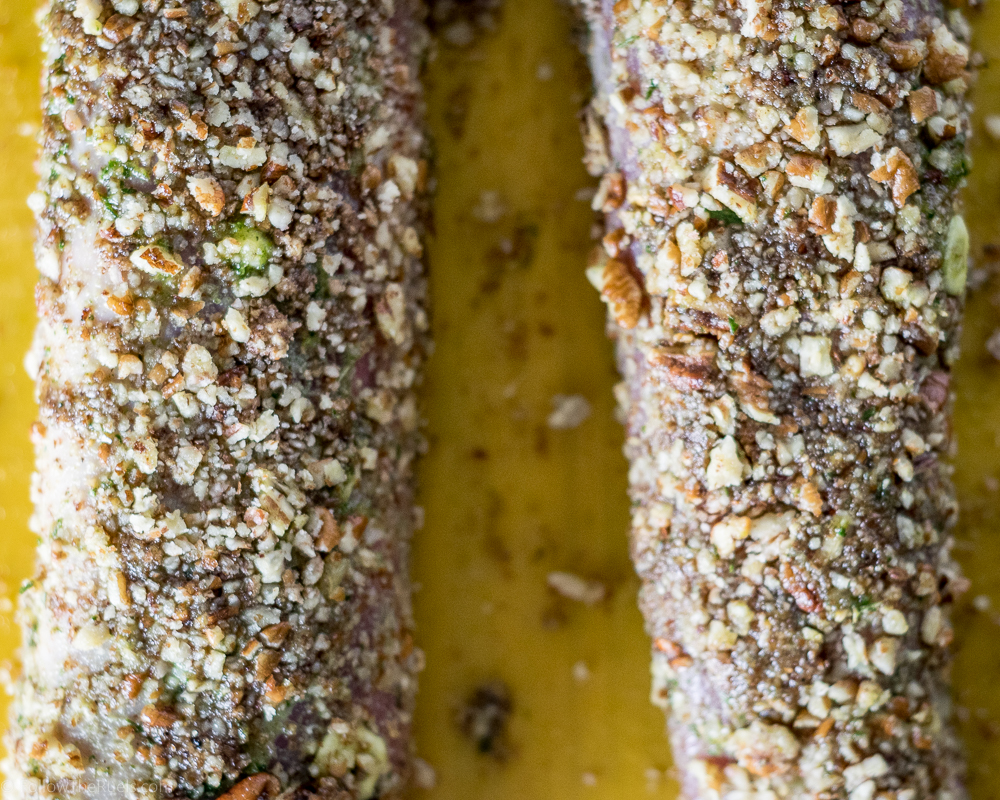 Pecan and Herb Crusted Pork