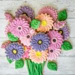 Gerber Daisy Cookie Flower Bouquet