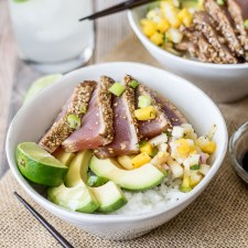 Sesame Crusted Tuna Bowl