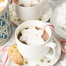 Snowflake Peppermint Marshmallows