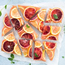 Blood Orange Lemon Bars