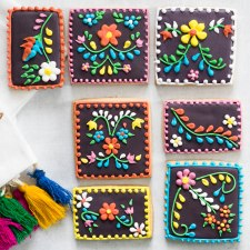 Mexican Embroidery Cookies