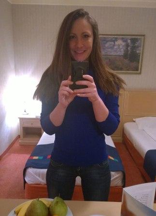 Nina, selfie in Park Inn by Radisson (3)