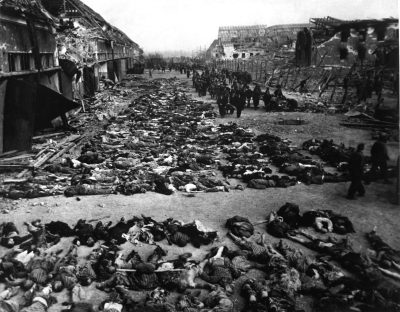The horror of Auschwitz