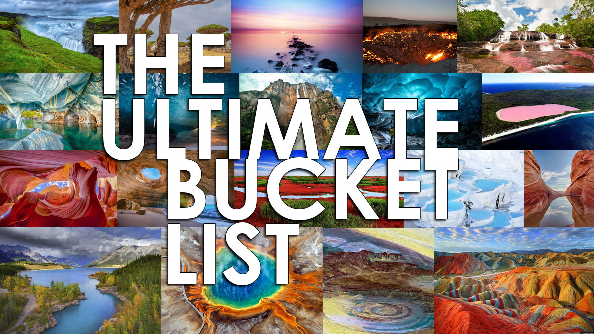 THE BUCKET LIST You'll Want To Copy