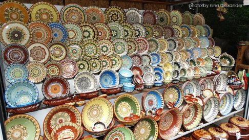 Pottery-for-sale-on-the-way-to-bachkovo-monastery