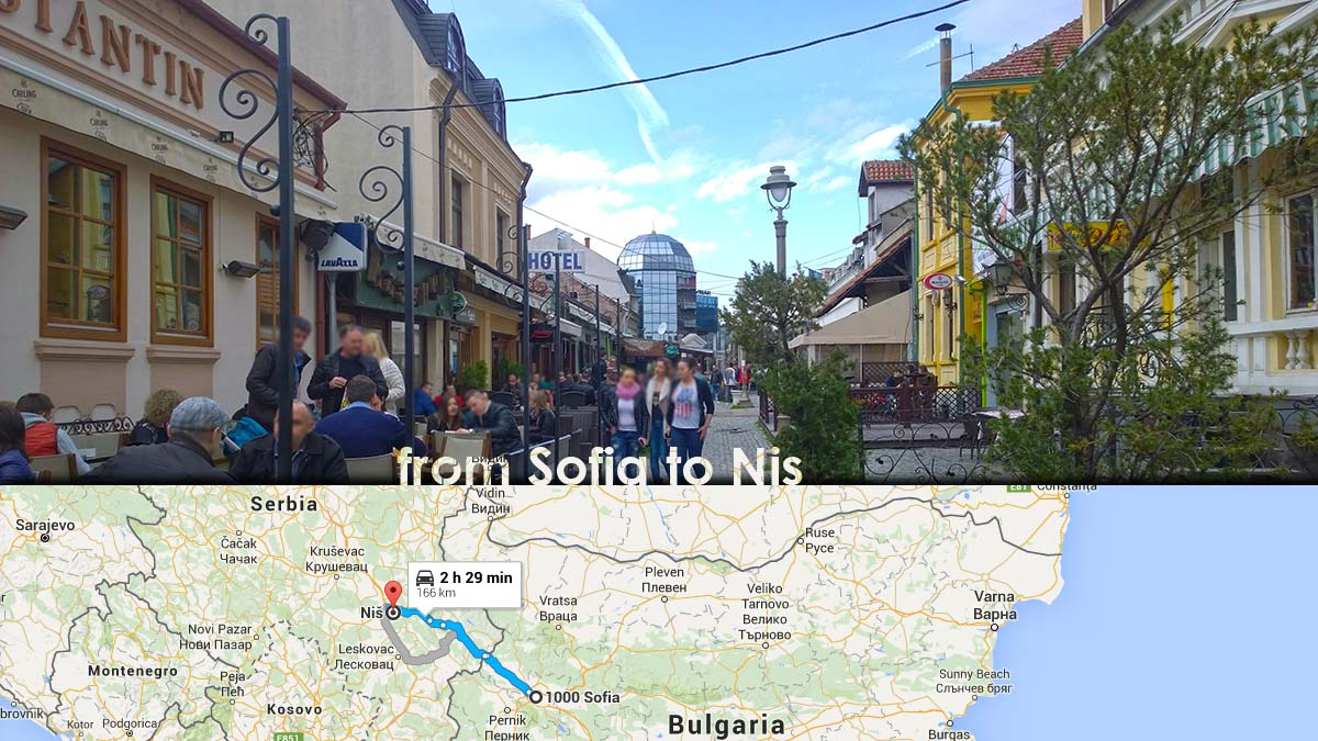 From Sofia To Nis Through Our Eyes