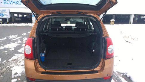 Rent a car Bulgaria, Chevrolet Captiva back view