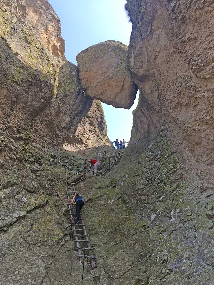 Going up on Karadjov Stone