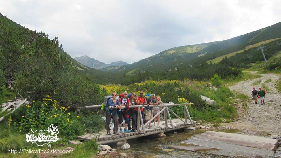 The beginning of the hike from Borovets to Musala