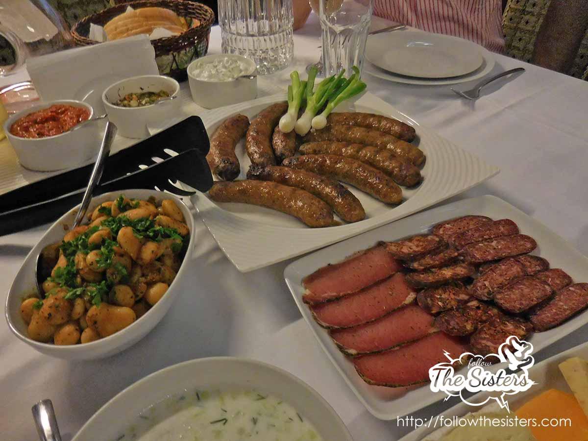 Deliciousness in villa Vuchev