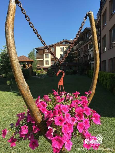 Greenwood hotel Bansko has a wonderful garden