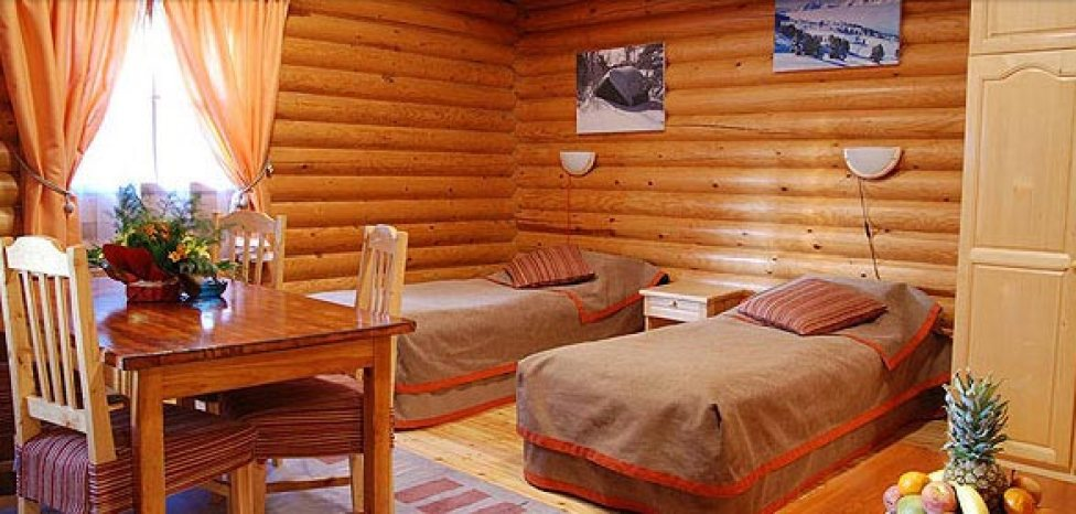 Two single beds in Villa Yagoda