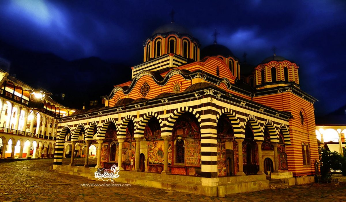 A Night In The Rila Monastery