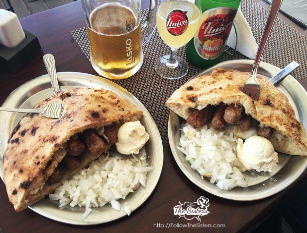 Food is always amazing at Sarajevo '84