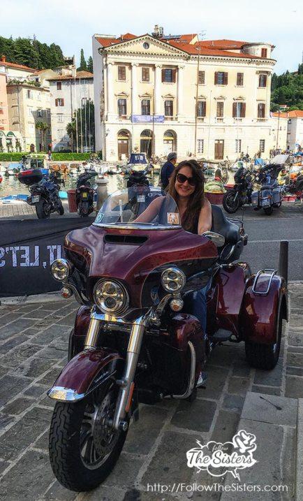 Nina and her next bike