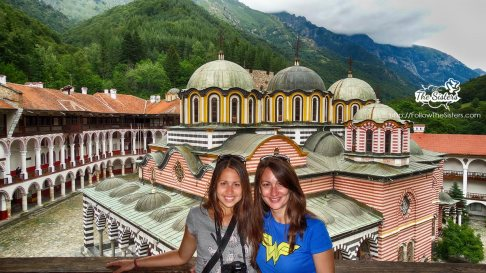 The sisters at Rila Monastery