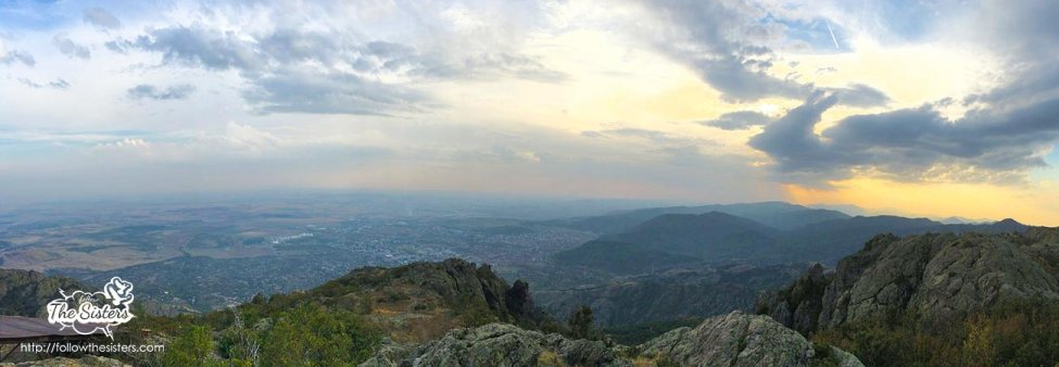 Stunning view from Sliven tv tower