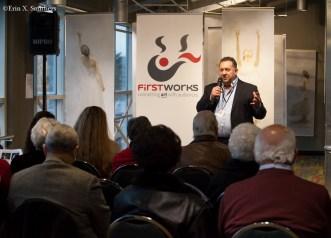 Peter Bramante, managing director of FirstWorks