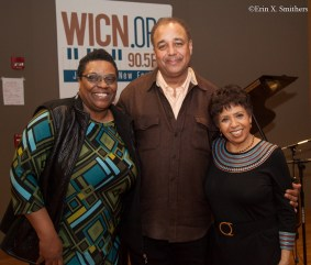 Bonnie Johnson, Frank Wilkins, and Joan Watson-Jones