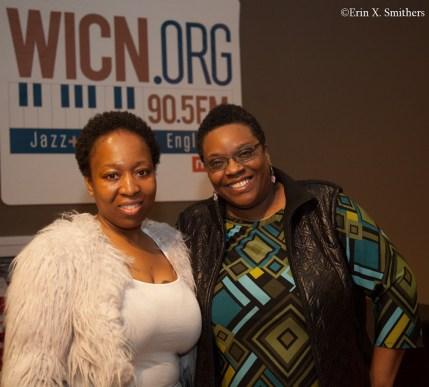 Nedelka Prescod and Bonnie Johnson