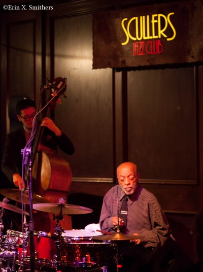 Roy Haynes on drums and David Wong on bass.