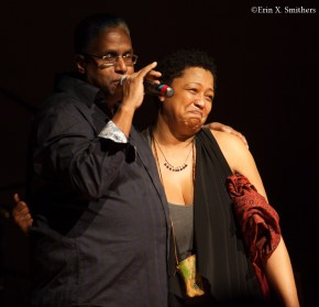 Lisa Fischer and Terrell Osborne