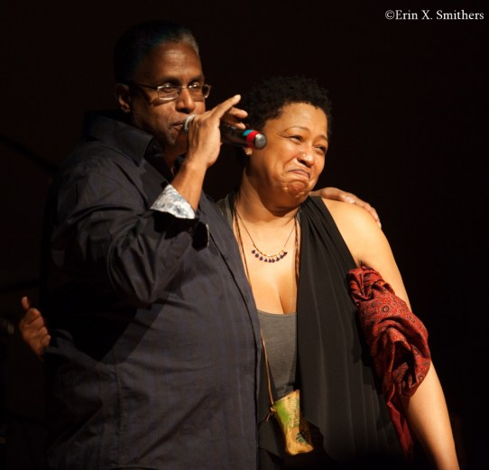 Lisa Fischer and Terrell Osborne