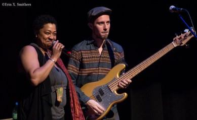 Lisa Fischer and Aidan Carroll