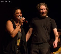 Lisa Fischer with lighting stuff from Park Theater